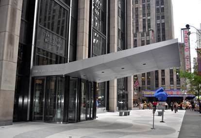 Street view of the Midtown Office Center entrance.