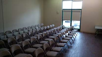 60 People Threatre Style Large Seminar Room