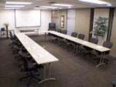 Large Conference Room U setup