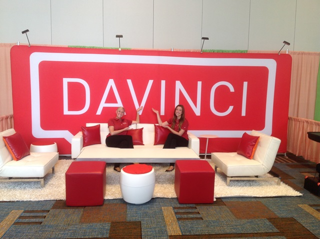 Davinci Virtual GWA Booth
