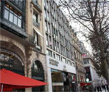 Virtual Offices in France - Avenue de Champs Elysees Executive Center #1349