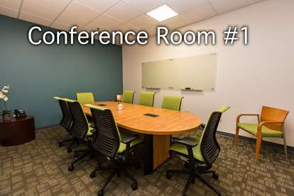Conference Room 1 with Caption