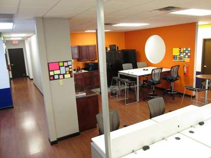 Coworking and Kitchen Area (2)