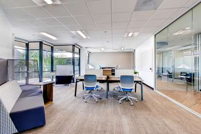 Coworking Common Area Shared Office Space