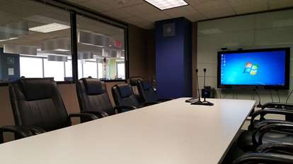 Conference Room seats 12