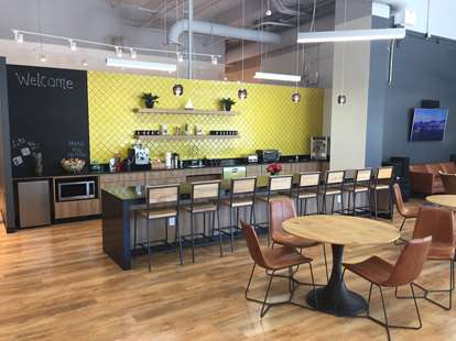 Cafe and Coworking Space