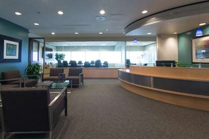 Reception Area Towards Boardroom
