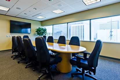 Boardroom - Empty at Angle